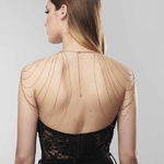 Эротические цепочки bijoux indiscrets Magnifique Shoulders And Back Jewerly
